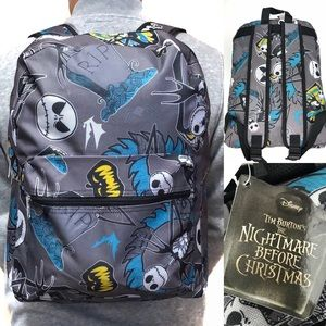 The Nightmare Before Christmas backpack laptop bag